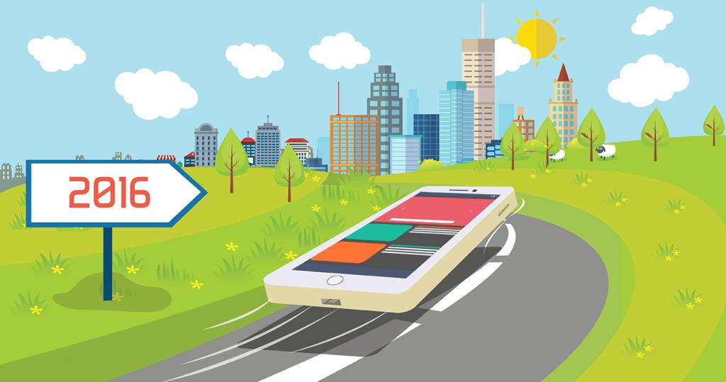Mobile App Development Trends in 2016