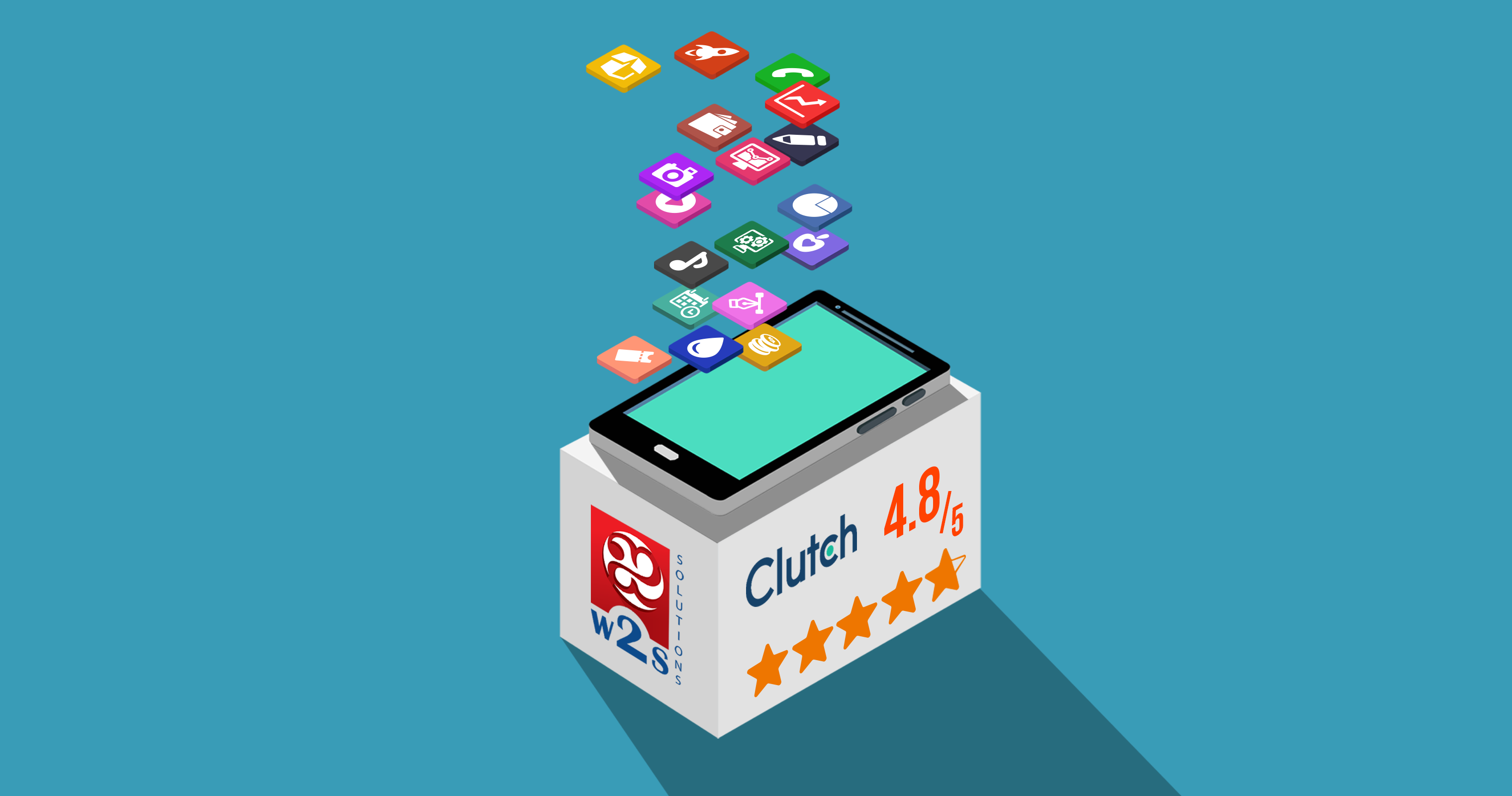 w2s mobile application Clutch review 4.8/5