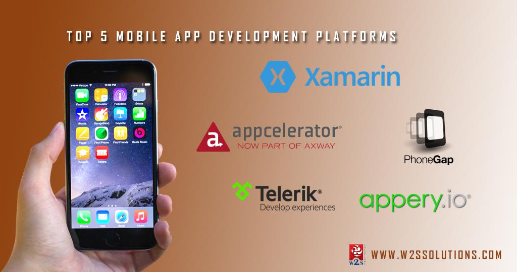 Top 5 Mobile App Development Platforms