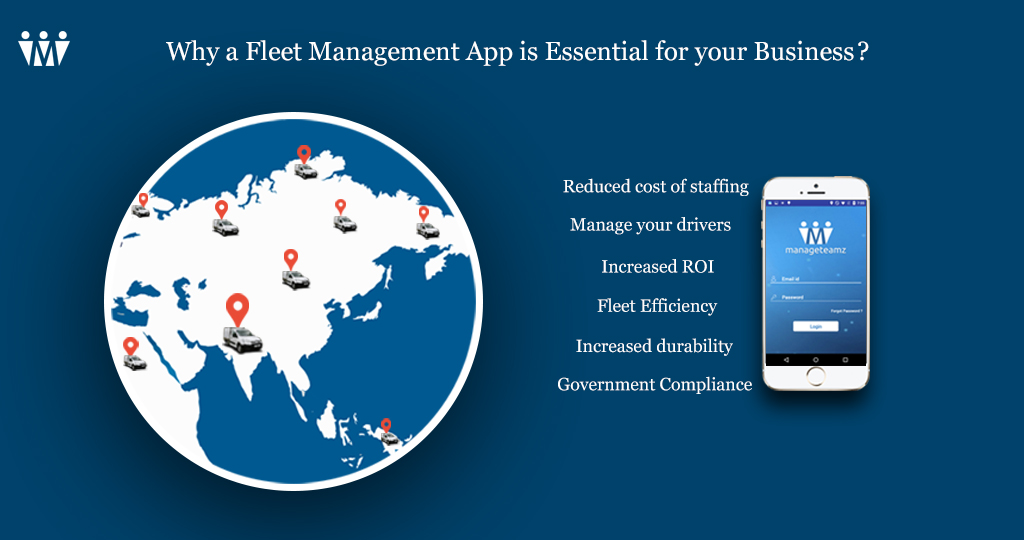 Why a Fleet Management App is Essential for your Business