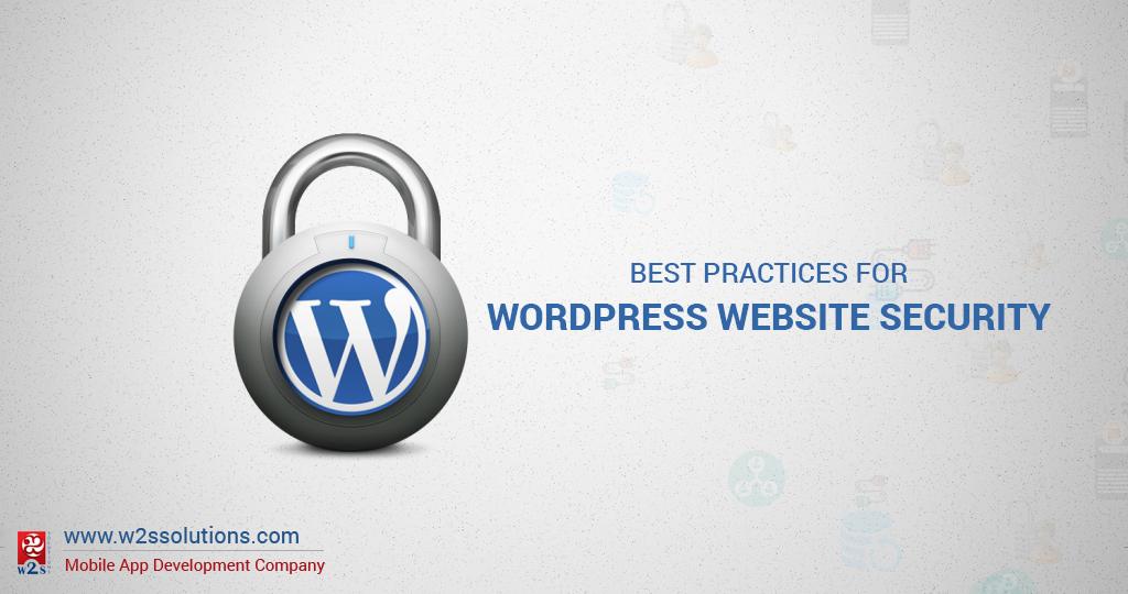 Best Practices for WordPress Website Security