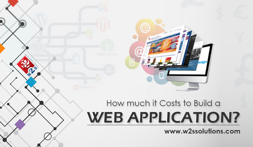 How much does it cost to build a custom web application for Website building cost