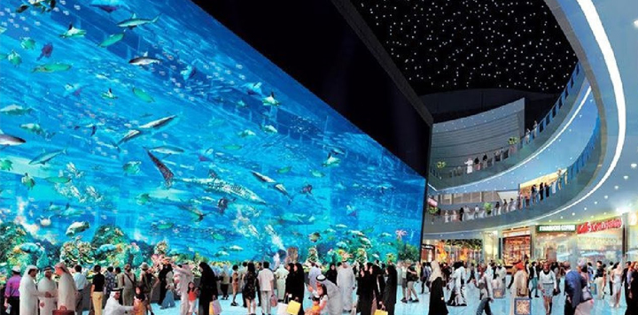 shopping mall dubai