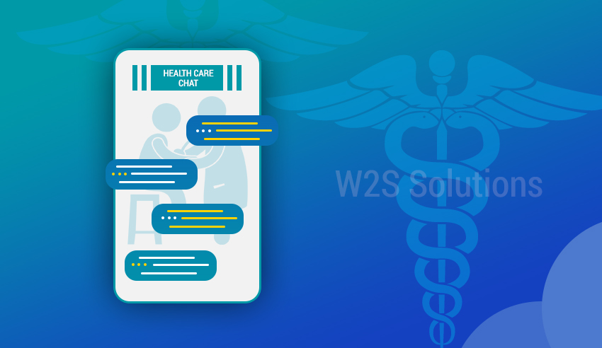 healthcare chat app development
