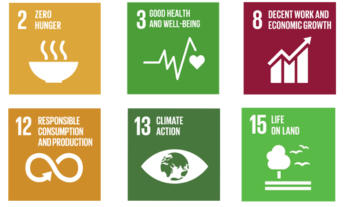 sustainable goals addressed