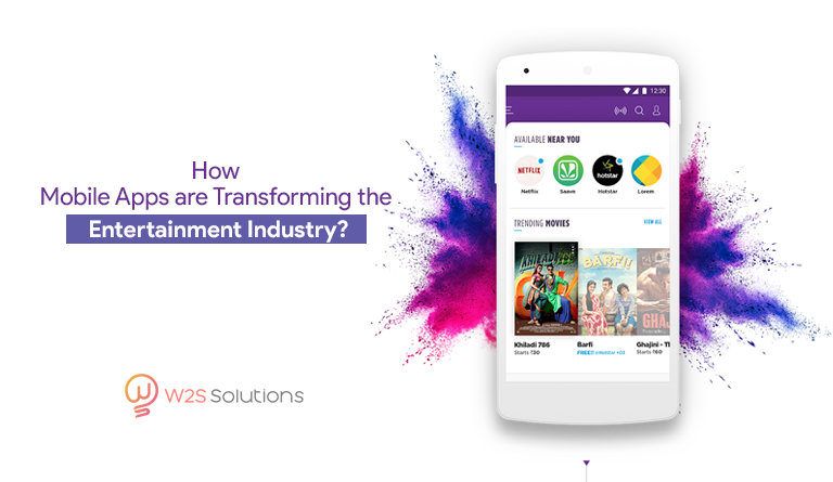 How Mobile Apps are Transforming the Entertainment Industry?
