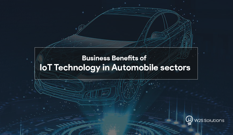 Business Benefits of IoT Technology in Automobile sectors