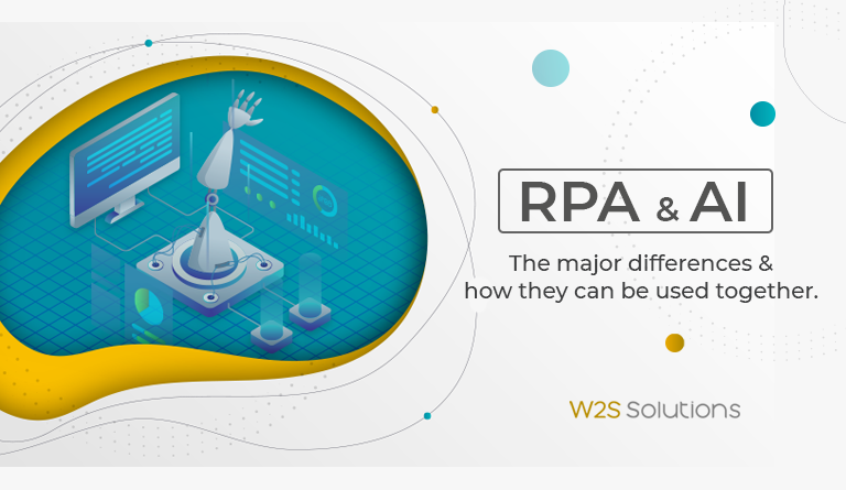 RPA & AI: The major differences and how they can be used together